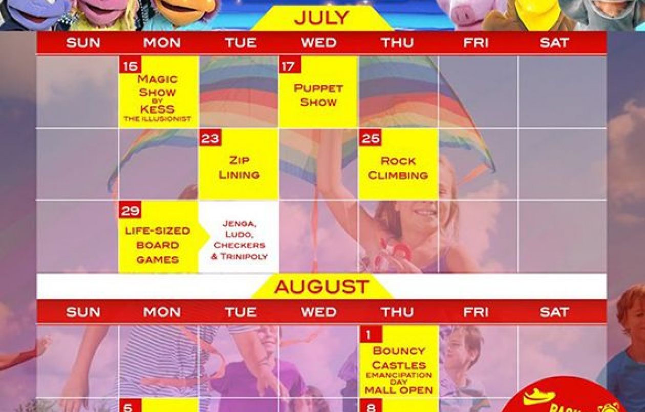 Gulf City Summer Calendar of Events 2019
