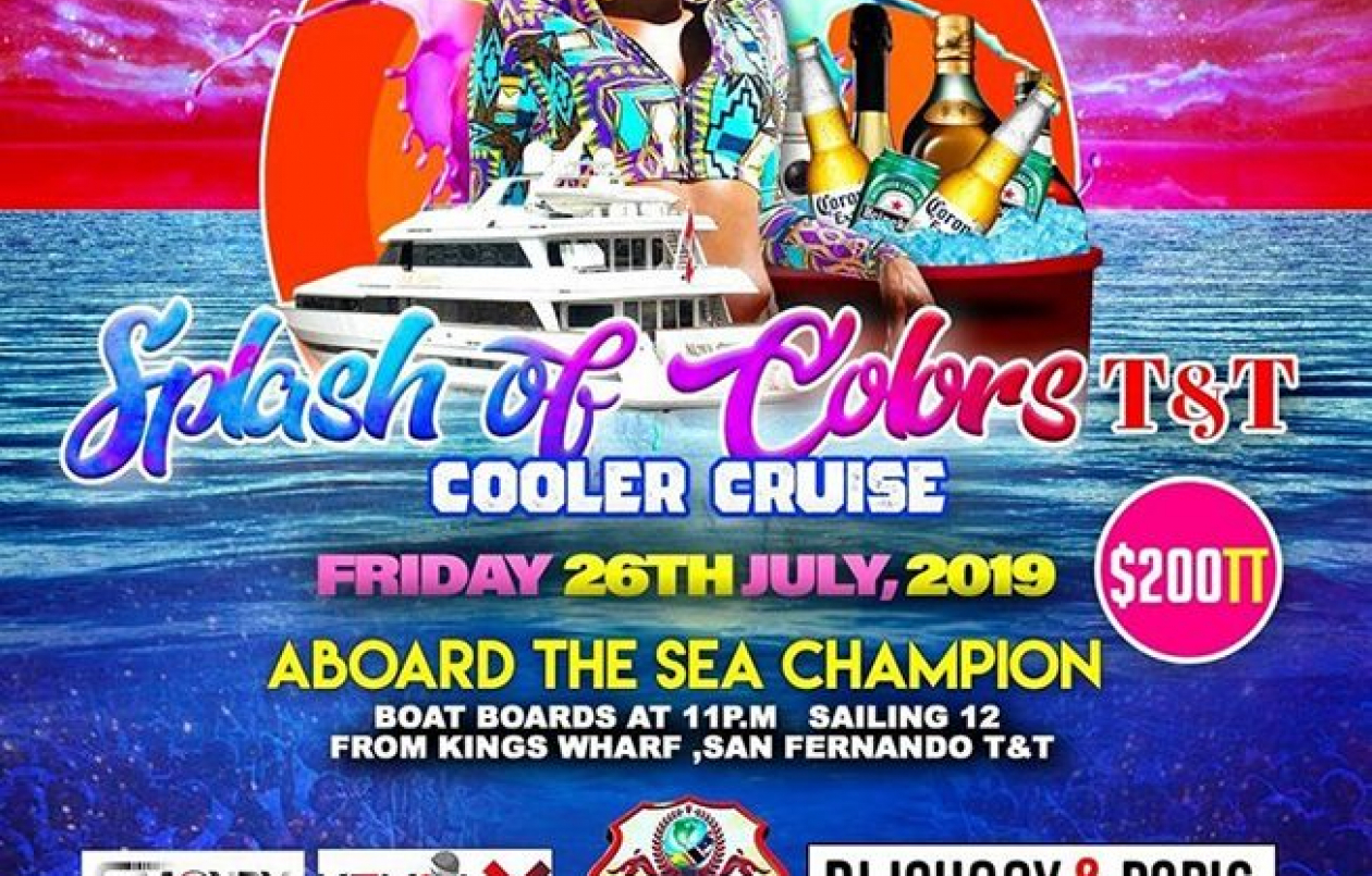 Splash Of Colors 2019: The Cooler Cruise Edition T&T