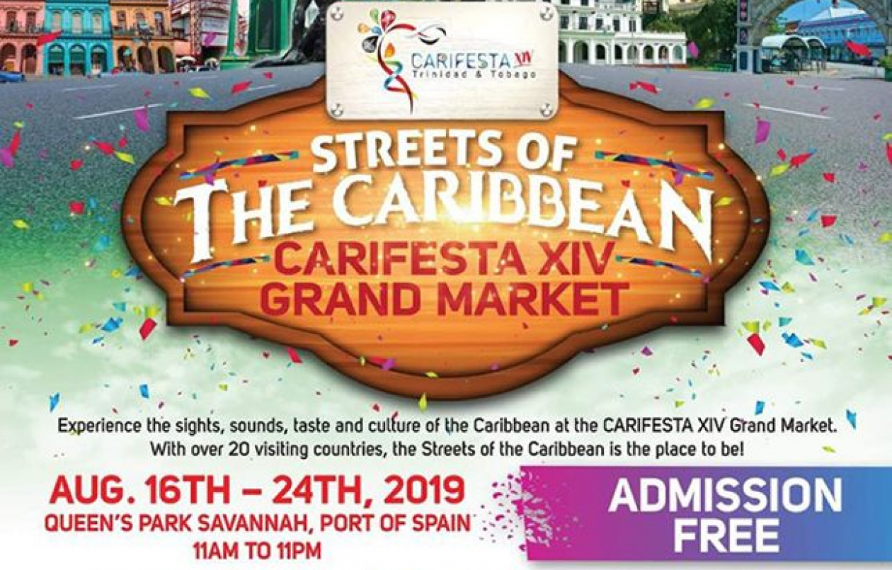 Carifesta XIV Grand Market: Streets Of The Caribbean