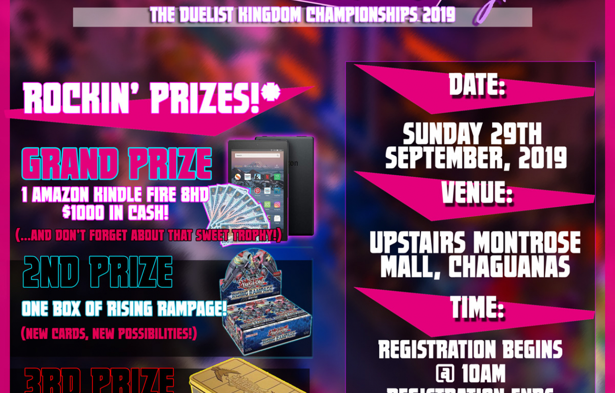 The Duelist Kingdom Championships 2019!