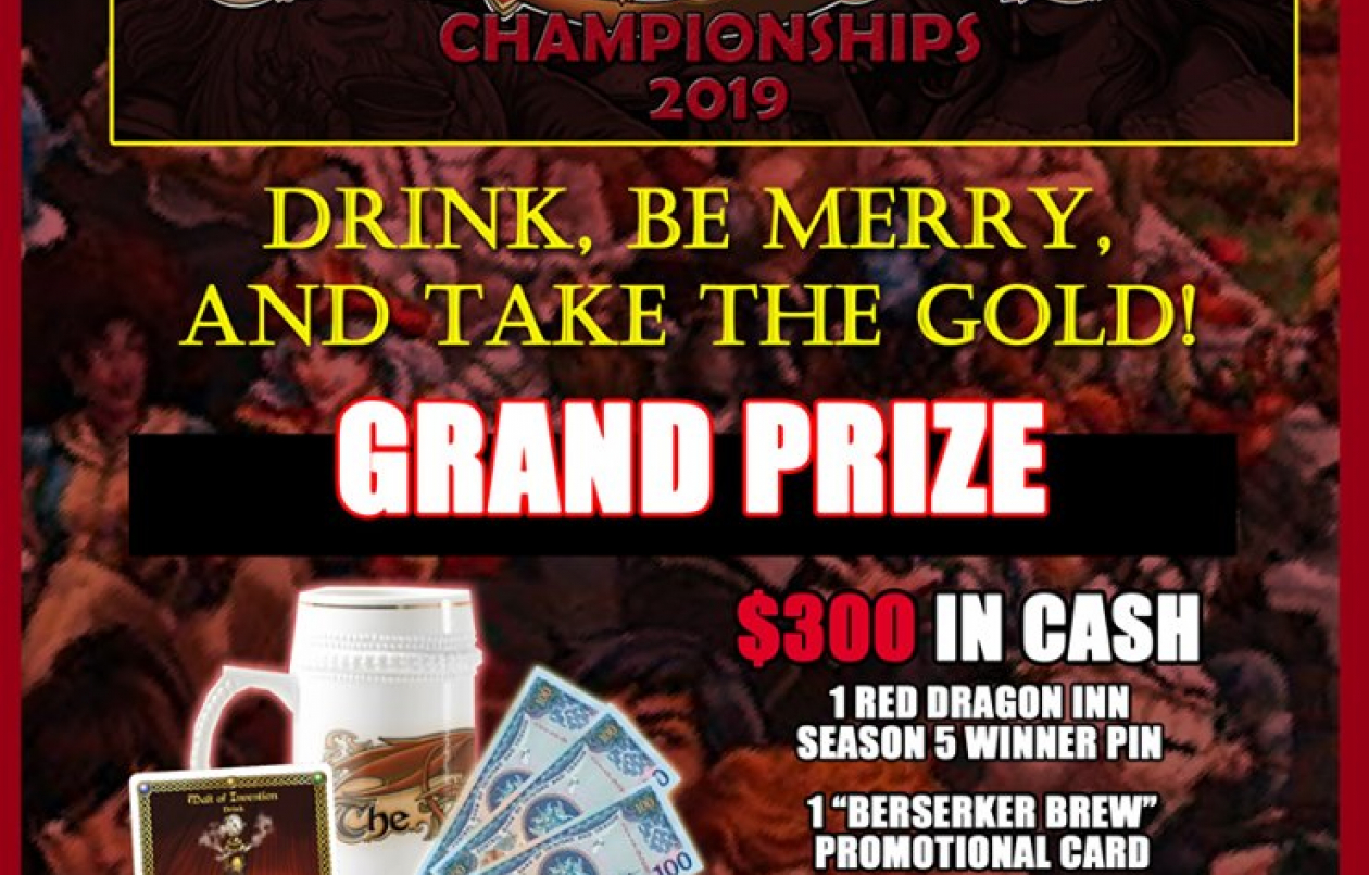 The Red Dragon Inn Championships 2019!