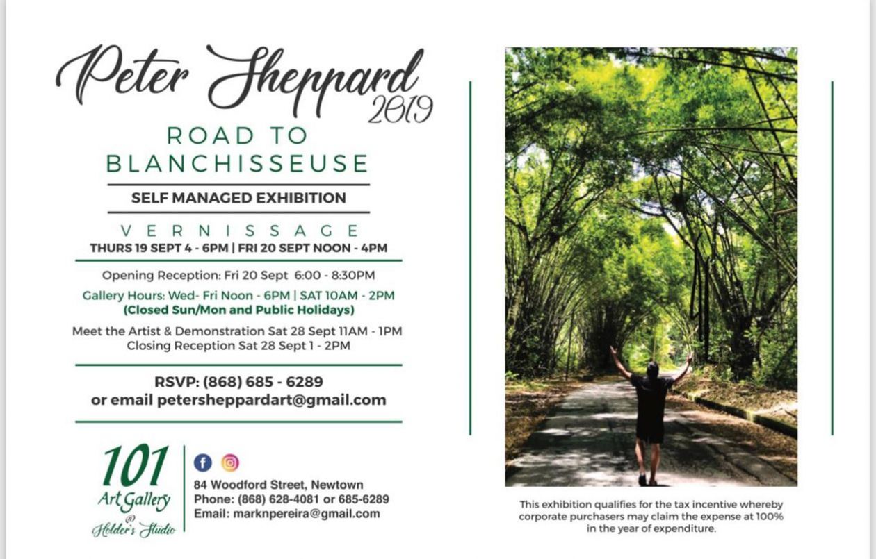 Peter Sheppard Exhibition -  Road to Blanchisseuse