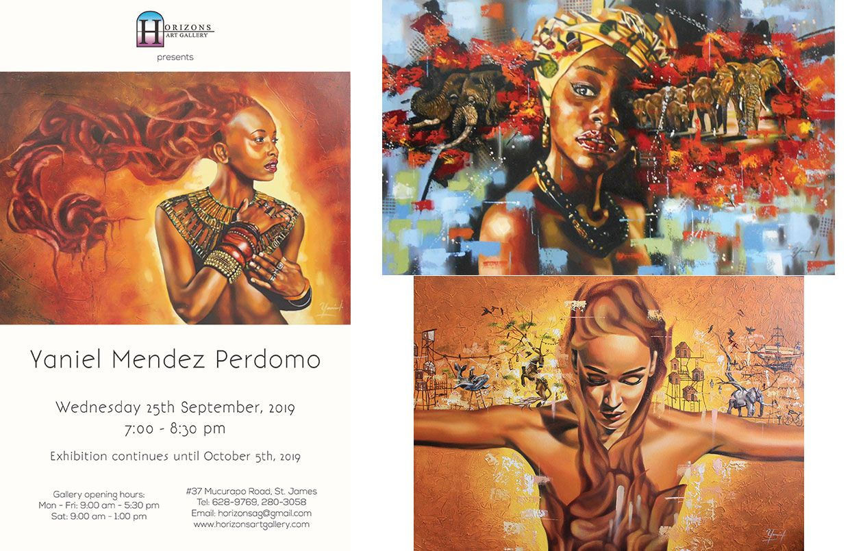 Exhibition by Cuban Artist Yaniel Mendez Perdomo