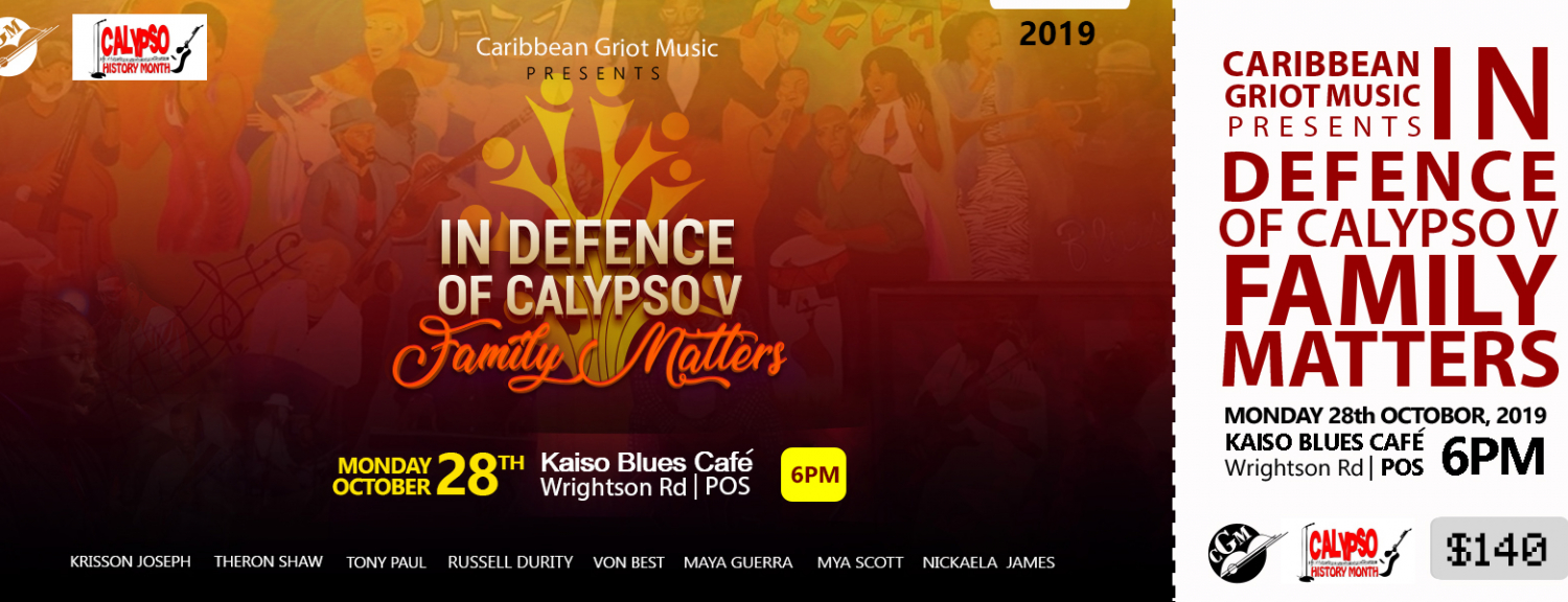 In Defence of Calypso V: Family Matters