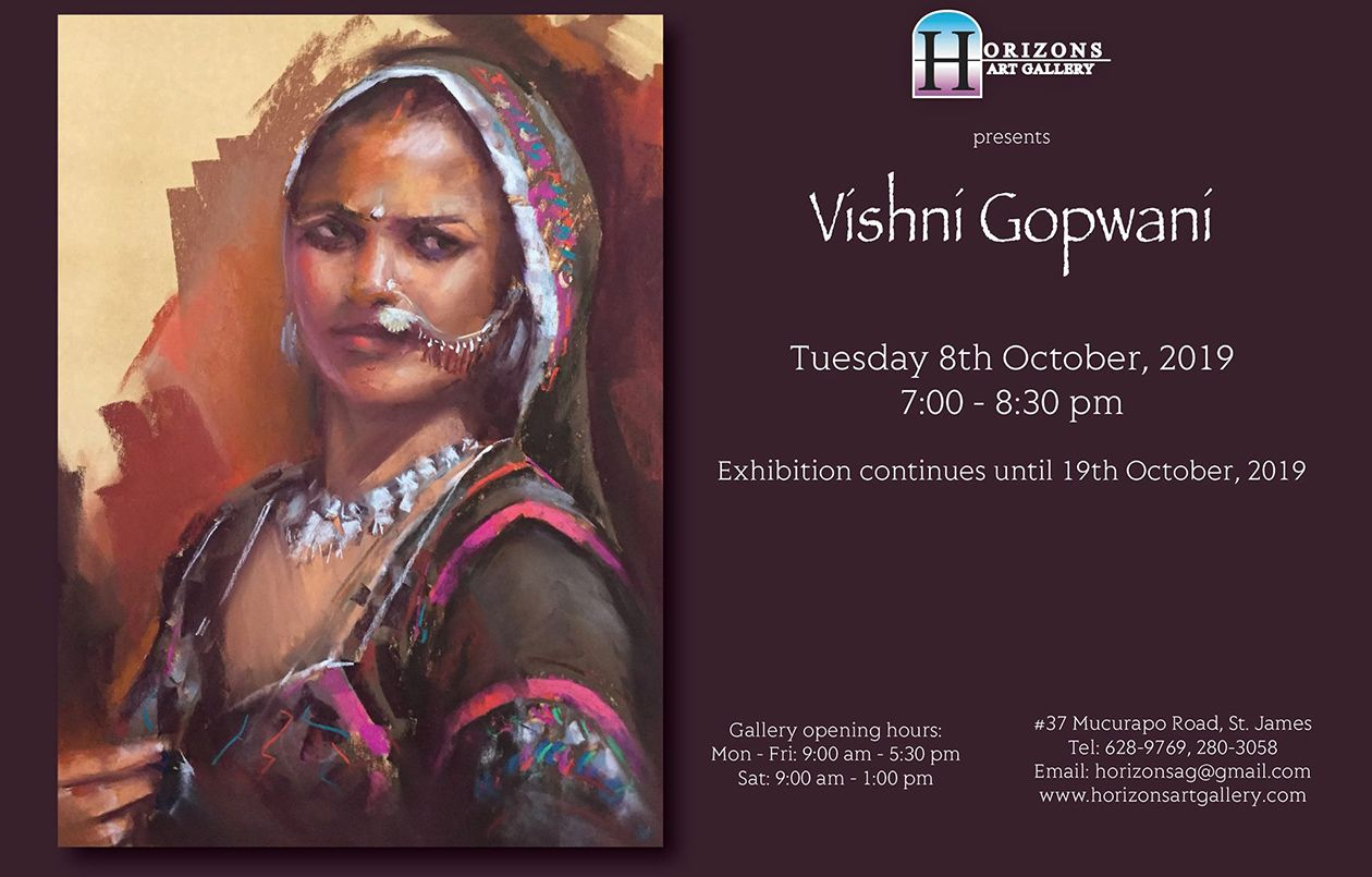 Exhibition by Vishni Gopwani