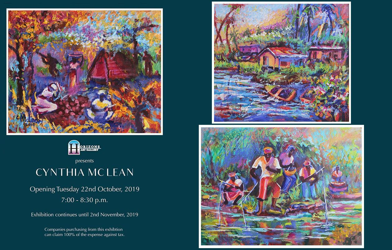 2019 Art Exhibition by Cynthia McLean