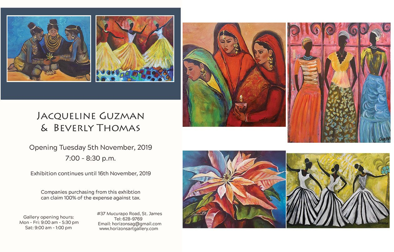 Art Exhibition by Jacqueline Guzman & Beverly Thomas