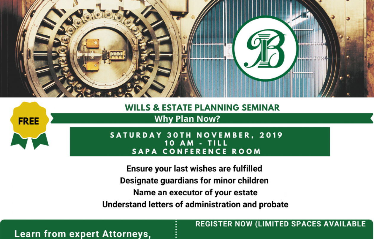 FREE Wills and Estate Planning Seminar