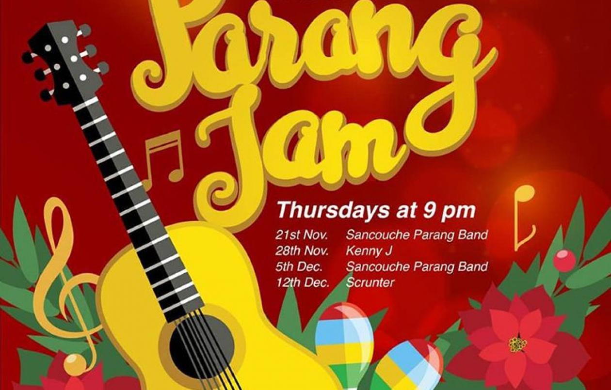 519 Thursdays Parang Jam 2019 - Sancouche Parang Band