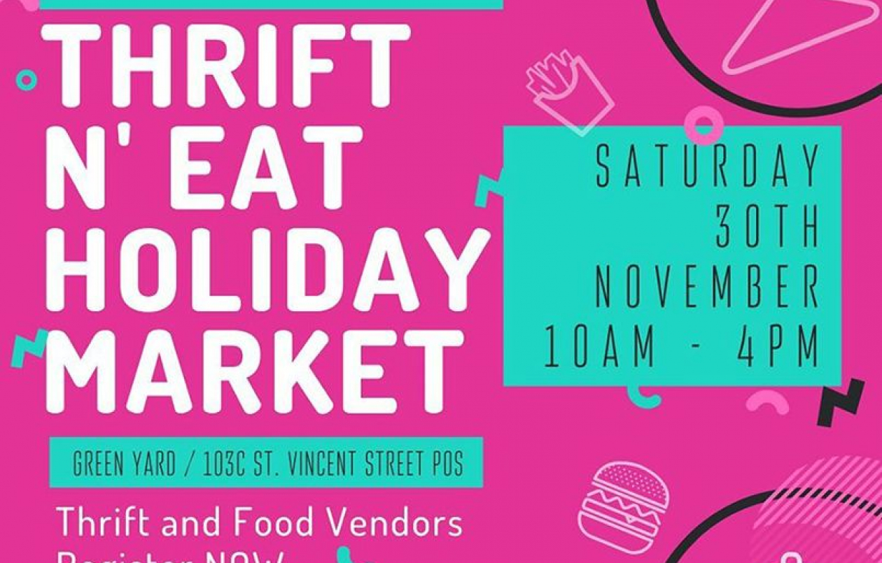 Thrift N EAT Holiday Market 2019
