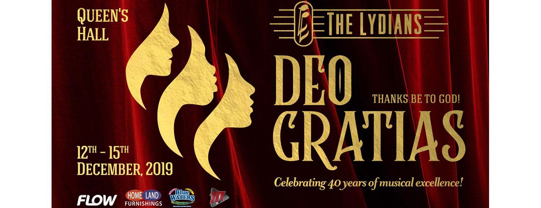 Deo Gratias - The Lydians, 40th Anniversary Christmas Concert
