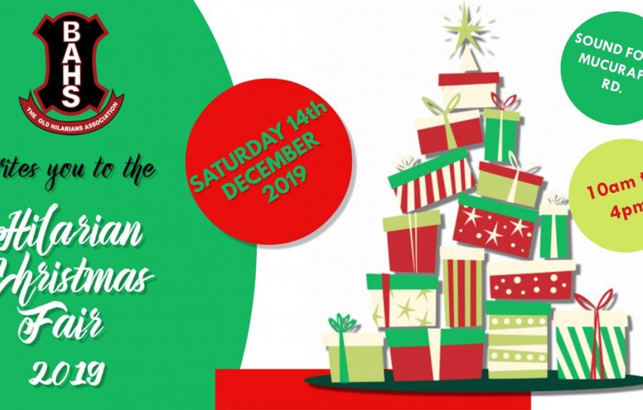 Hilarian Christmas Fair 2019