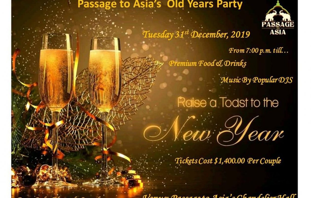 Passage To Asia's Old Years Party 2019/20