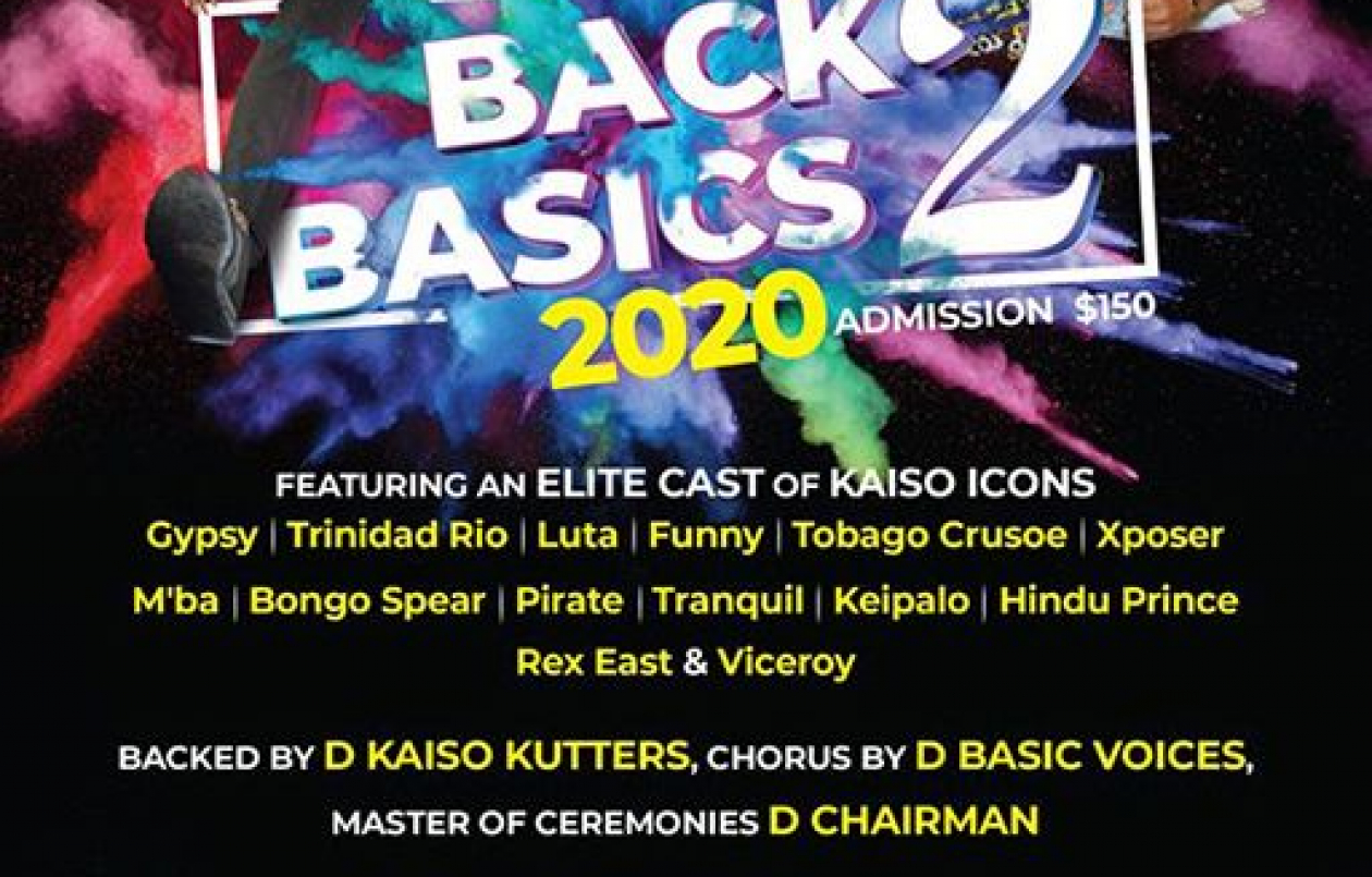 Back To Basics 2 - Naparima Bowl