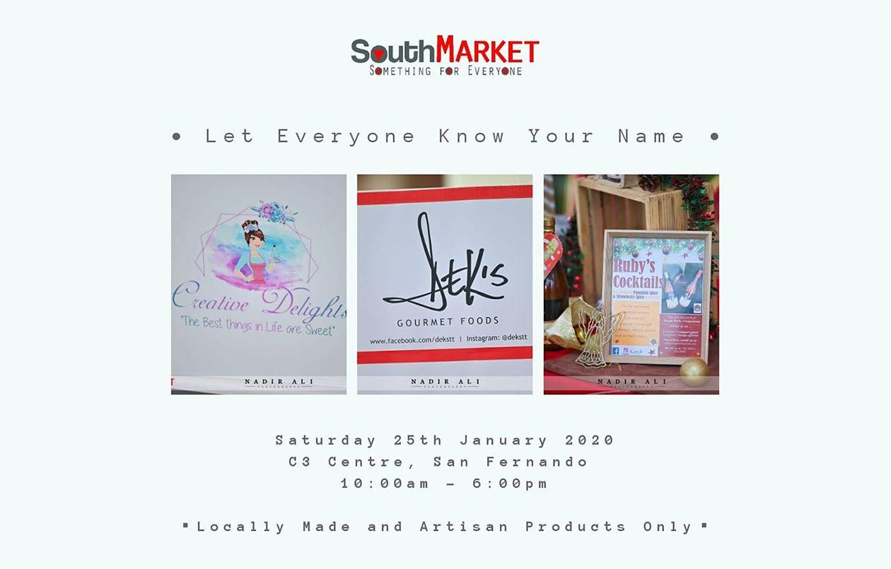 South Market at C3 - Sat 25th Jan 2020