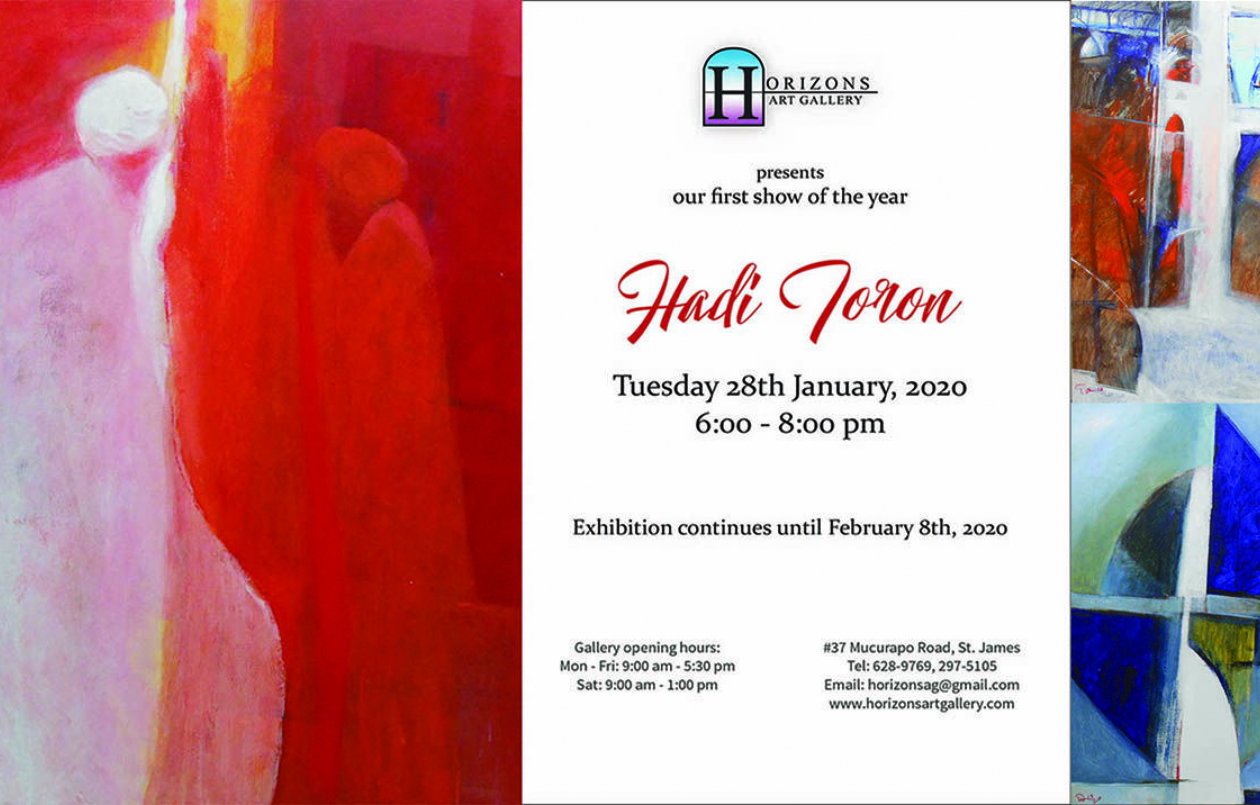 An Exhibition Of Works By Hadi Toron