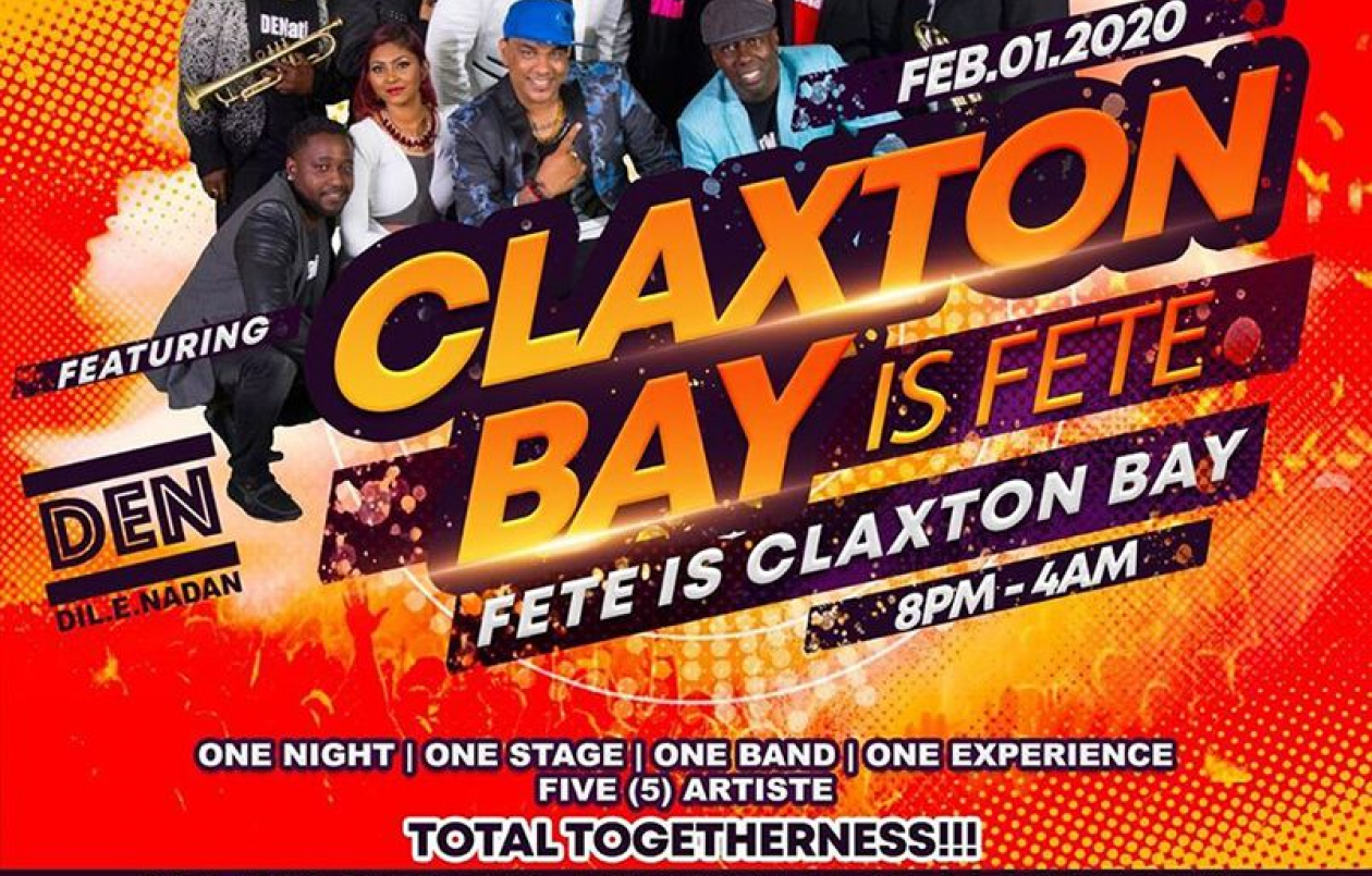 Claxton Bay Is Fete And Fete Is Claxton Bay 2020