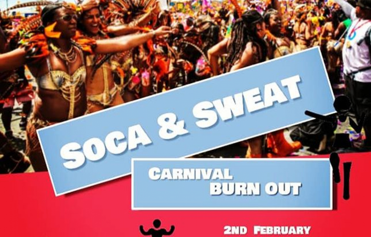 Soca & Sweat: Carnival Burn Out 2020
