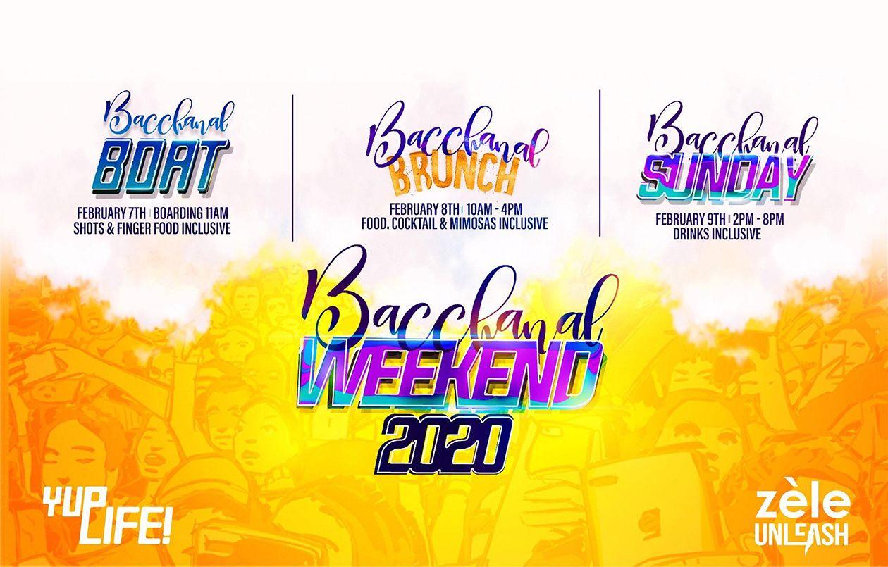 Bacchanal Weekend 2020