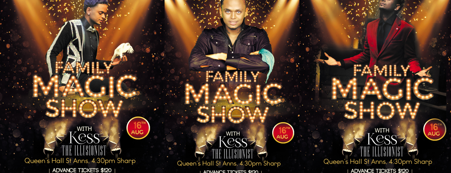 Family Magic Show With Kess The Illusionist