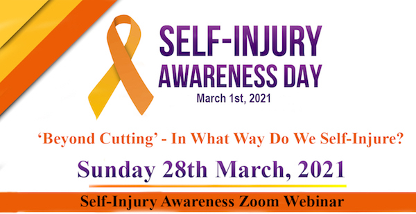 Self-Injury Awareness Webinar: Beyond Cutting - In What Ways Do We Self-Injure?