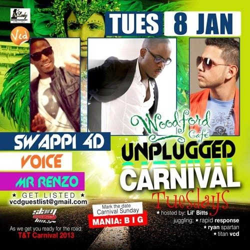 Unplugged Tuesdays! Swappi, Mr. Renzo & Voice