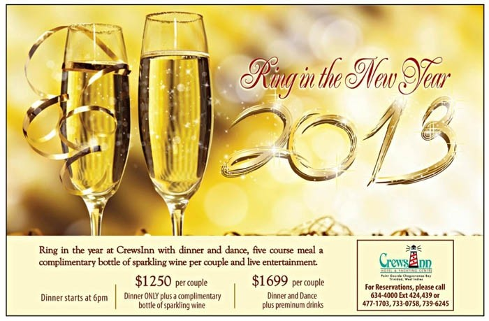 Ring in the New Year at Crews Inn