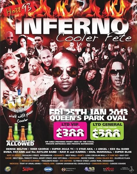 Hott 93 Inferno Cooler Fete 2013