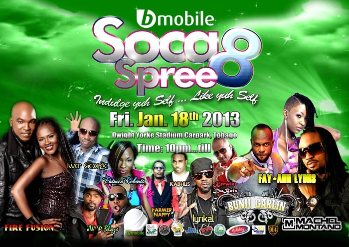 Bmobile Soca Spree 8
