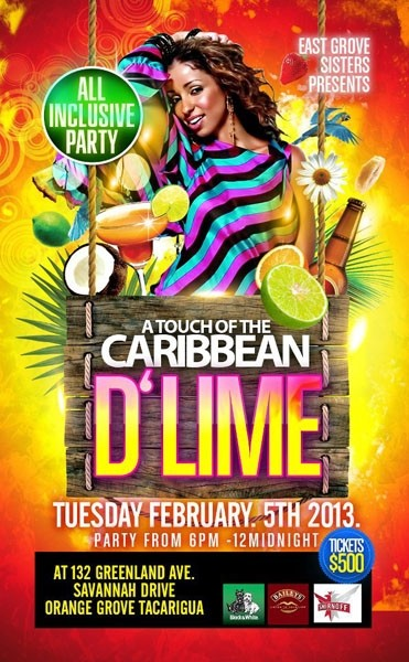 A Touch of The Caribbean 6: D'Lime