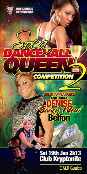 Soca Dancehall Queen 2