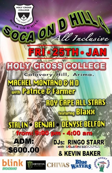 Soca on D Hill 4 All Inclusive