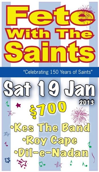 Fete With The Saints