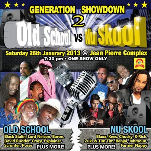 Generation Showdown 2: Old School vs Nu Skool