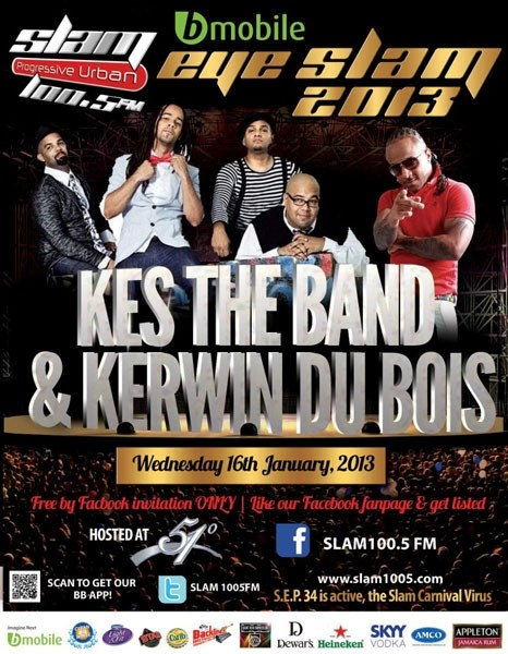Eye Slam Concert Series 2013: Kes the Band & Kerwin Du Bois