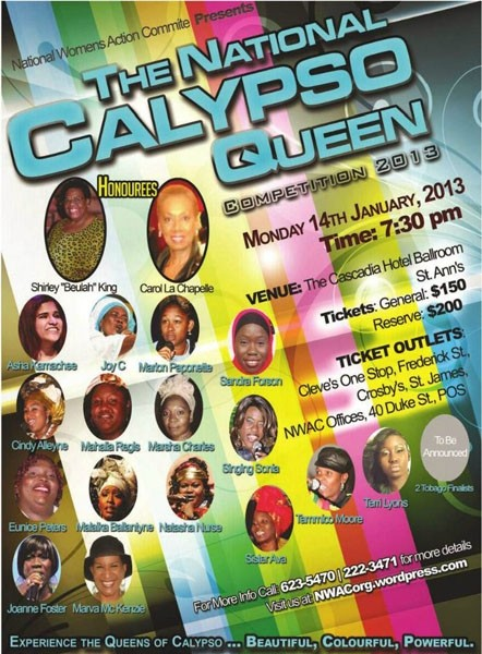 The National Calypso Queen Competition 2013