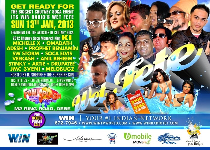 WIN Radio's Wet Fete