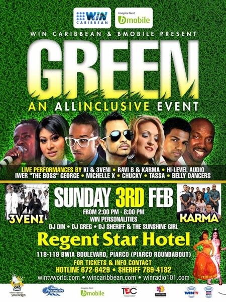 GREEN An All Inclusive Event
