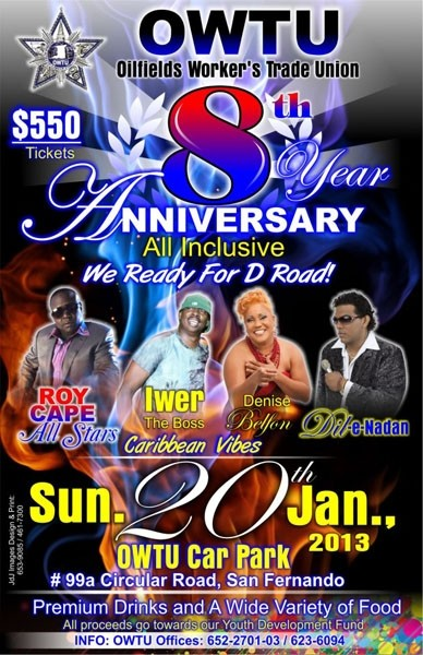 OWTU 8th Annual All Inclusive