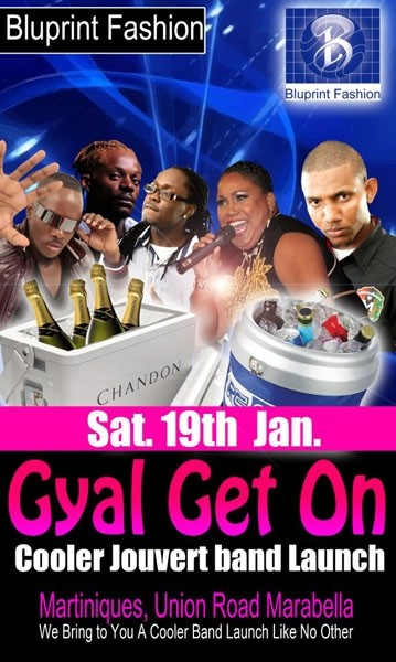 Blu Print Fashion J'Ouvert Band Launch 2013: Gyal Get On