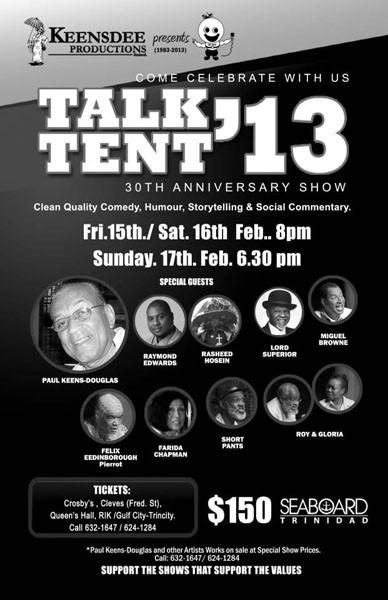 Talk Tent 2013