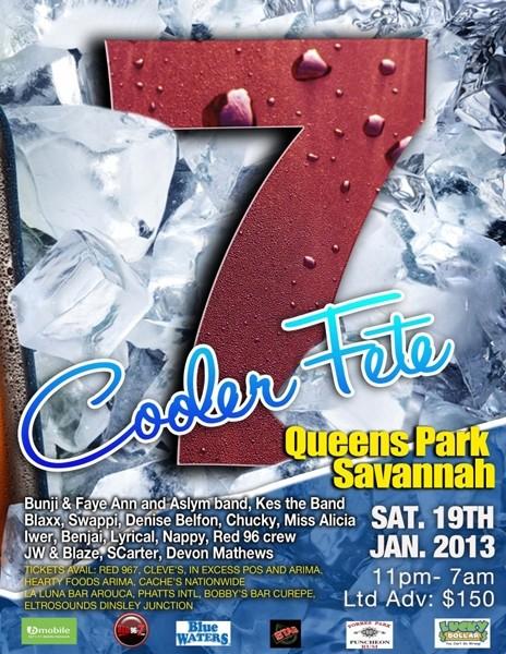 7 Cooler Fete