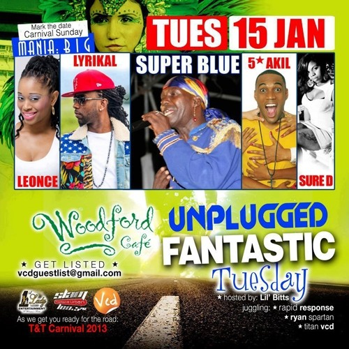 Unplugged Tuesdays! Fantastic Tuesday: Super Blue, 5 Star Akil & Lyrikal