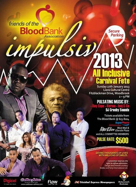 Friends of The Blood Bank All Inclusive 2013: Impulsiv