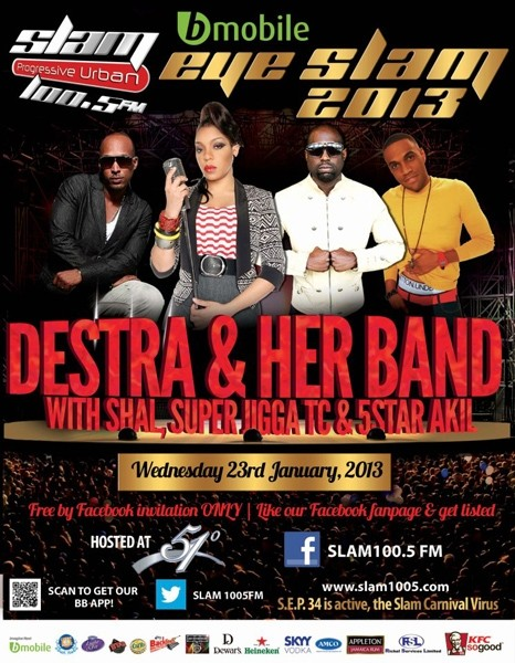 Eye Slam Concert Series 2013: Destra Garcia & Her Band