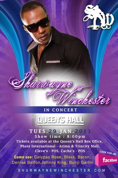 Shurwayne Winchester in Concert 2