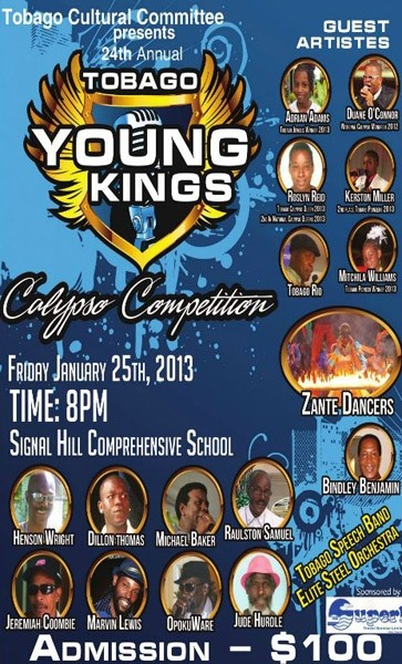 24th Annual Tobago Young Kings Calypso Competition