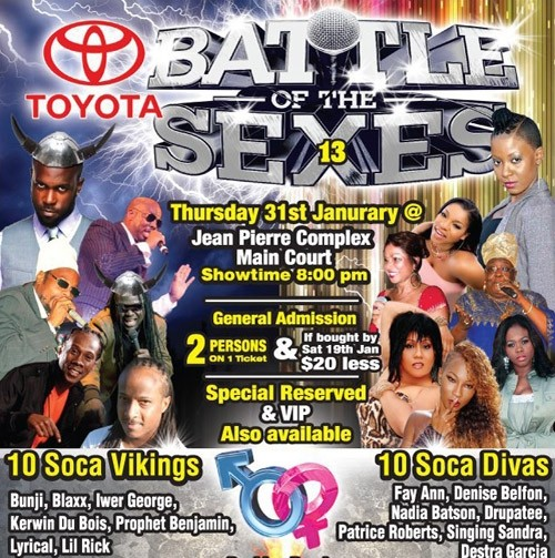 Battle of the Sexes 2013