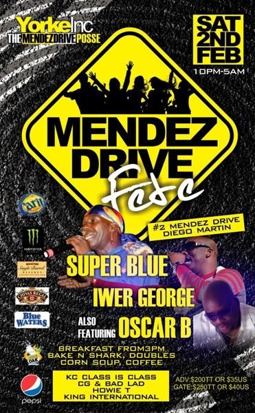 Mendez Drive Fete 2013