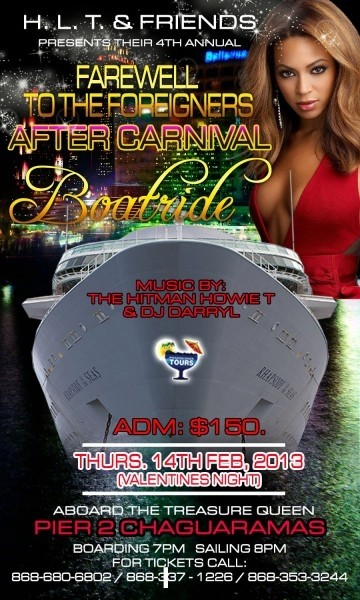 H.L.T & Friends 4th Annual Farewell to the Foreigners Boatride